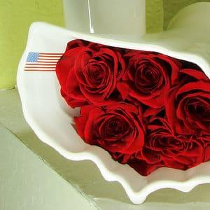 Dianthus Ceramic Flower Vases – 2