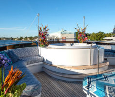 Yacht Flowers Arrangement in Miami & Fort Lauderdale, FL