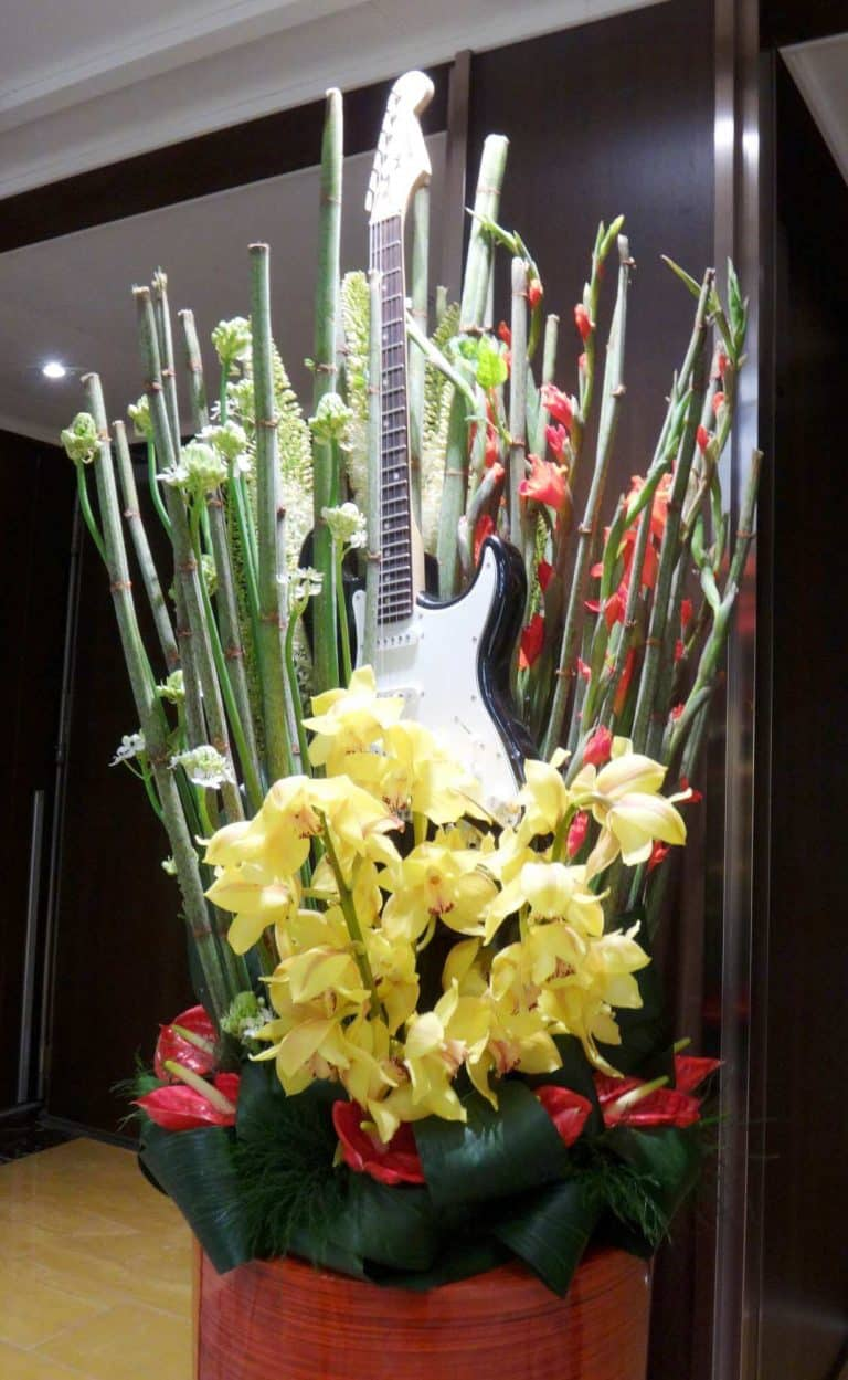 Music themed Flowers Miami