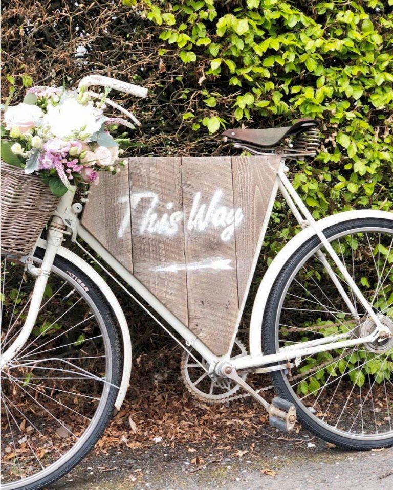 Wedding Flowers in Bicycle