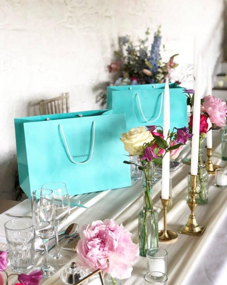 Wedding Flowers and Gift bag